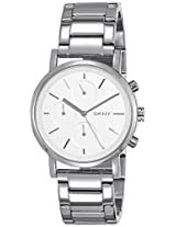 DKNY Soho Chronograph Silver Dial Women's Watch - NY2273I