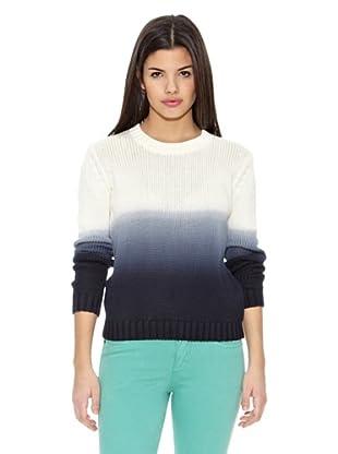 Springfield Jersey Dye Sweater (Blanco / Azul)