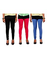 1FORME-GL-COMBO-NAVY-Pink-BLACK Leggings