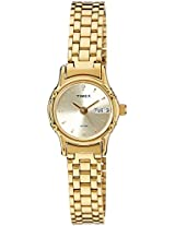 Timex Classics Analog Gold Dial Women's Watch - B810
