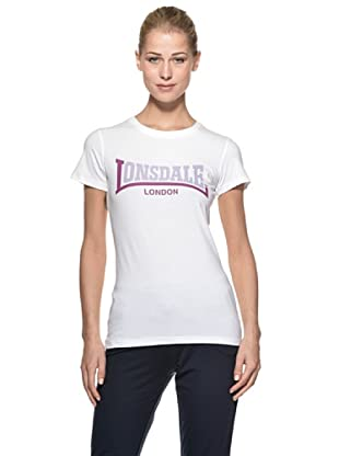 Lonsdale T-Shirt Kinley (Bianco)