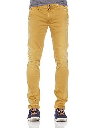 Pepe Jeans London Pantalón Hatcher (Mostaza Claro)