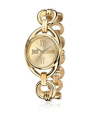 Just Cavalli Reloj con movimiento Miyota Woman Drop Dorado 43x32 mm