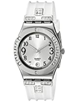 Swatch Analog Silver Dial Women's Watch - YLS430