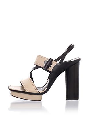 Calvin Klein Collection Women's Sibel Platform Sandal (Canyon/T. Moro)