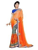 Gopalclothdesigner Art Silk Resham Saree (iwgy161_Multicolor)