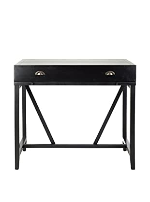 Safavieh Wyatt Writing Desk with Pull-Out Table, Black