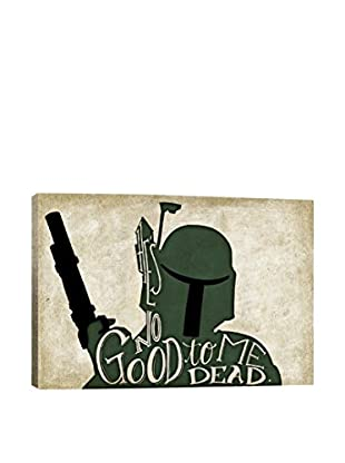 Darklord No Good To Me Dead Gallery Wrapped Canvas Print