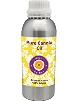 Pure Canola Oil 630ml -Brassica napus 100% Natural Cold pressed