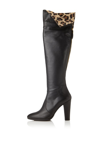Stuart Weitzman Women's Zookeeper Boot (Black Calf)