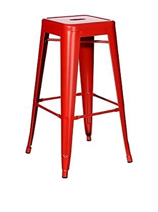Especial Asientos Taburete Dallas Rojo
