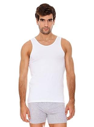 ABANDERADO Camiseta Real Cool Cotton (Blanco)