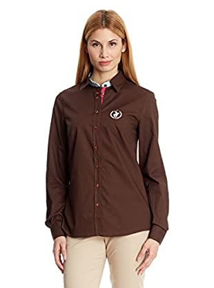 Polo Club Camisa Mujer Small Horse Shirt Sra Flower