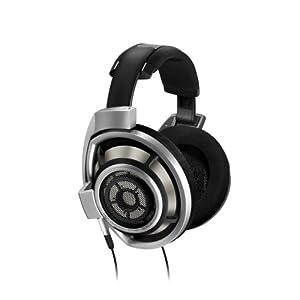 Sennheiser HD800 Over-Ear Circum Aural DynaMic Premiere Headphone with Mic and Water Resistance (Black)