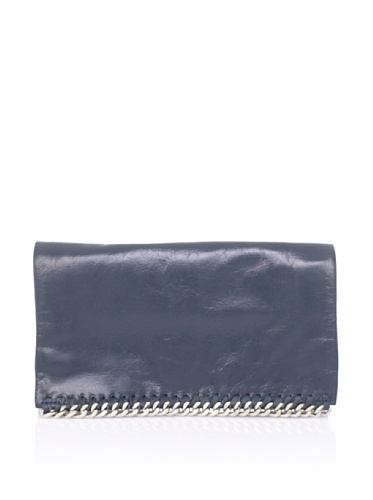 Latico Women's Billie Foldover Wallet (Teal)