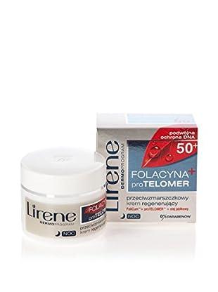 Lirene Nachtcreme Folacyna PRO Telomer 50+ 50 ml, Preis/100 ml: 29.9 EUR
