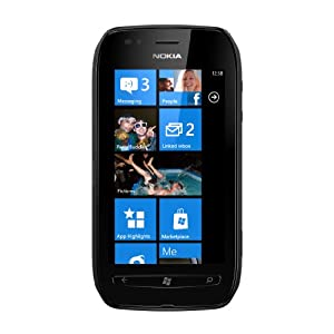 Nokia Lumia 710 Windows Smartphone-Black