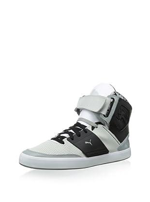PUMA Men's El Solo High Fashion Sneaker (Gray Violet/Limestone/Black)