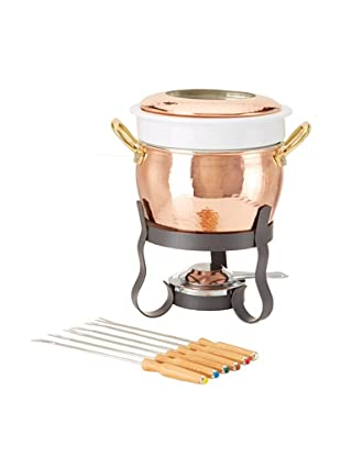 Ruffoni Cremeria Collection Copper 11-Piece Fondue Set