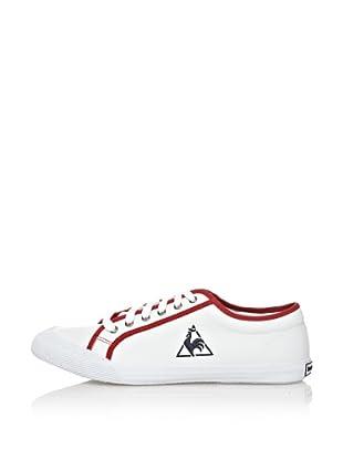 Le Coq Sportif Zapatillas Lona Deauville Tricolore Blanco / Rojo EU 39