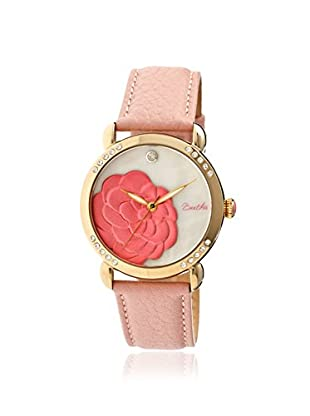 Bertha Women's BR4605 Daphne Light Pink/White Leather Watch