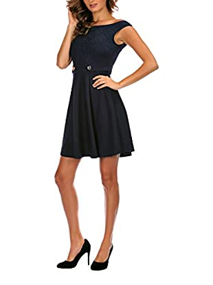 French Code Kleid Calor