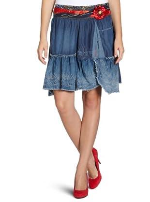 Desigual Falda, 27F2735 (Azul)