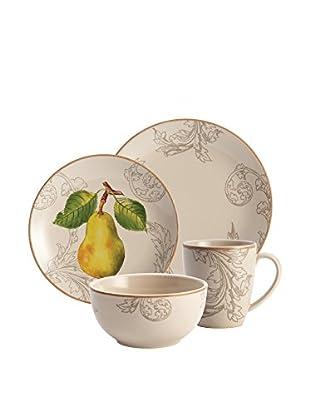 Bonjour Orchard Harvest 16-Piece Dinnerware Set