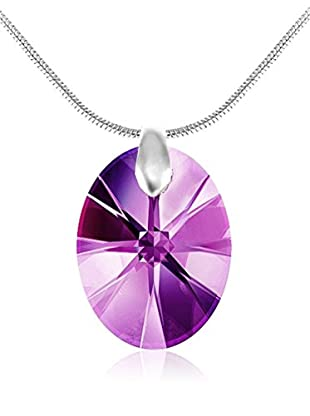 So Charm with Crystals from Swarovski Collar  Morado