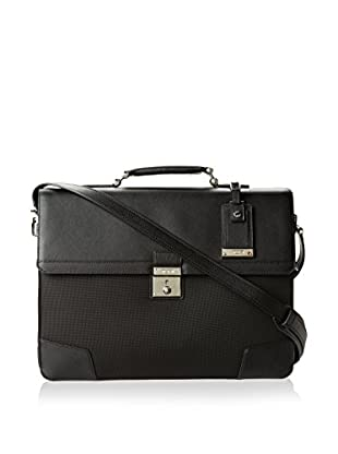 TUMI Astor Dorilton Slim Flap Brief, Black