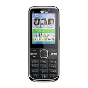Nokia C5-00 Mobile Phone-Black