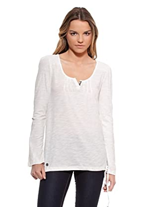 Timeout Camiseta Jaretas (Blanco)