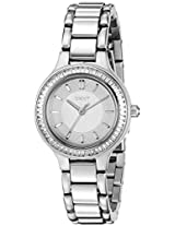 DKNY Women's NY2391 CHAMBERS Silver Watch