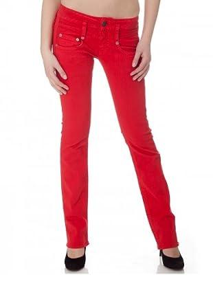 Herrlicher Jeans Pitch Denim Stretch Regular Fit Bull (Geranium)