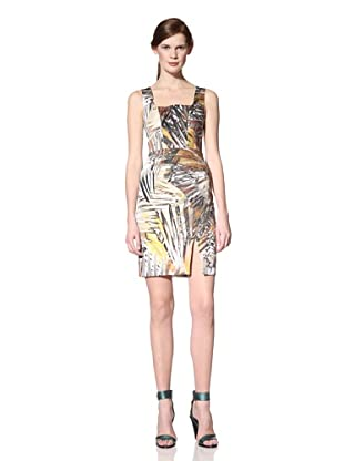 Black Halo Women's Redford Printed Dress (Safari)