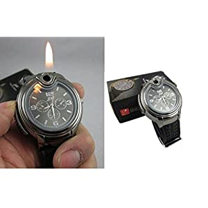 Pearlsells Stylish Wrist Watch Butune Cigarette Lighter