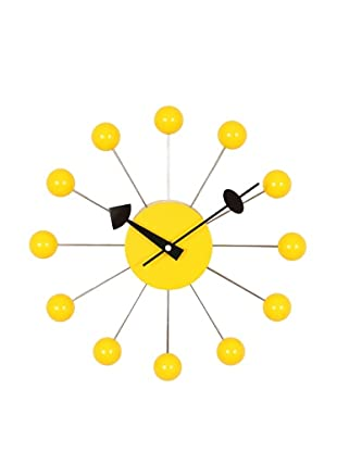 George Nelson Ball Clock, Yellow