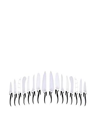 Magefesa Set 16 Cuchillos Revestimiento Cerámico