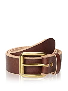 Bill Adler Design Men's Belt, Chocolate, 38