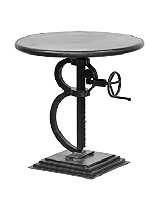 Tottenham Court Ayasha Crank Table, Rustic Black