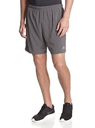 New Balance Men's 7-Inch Impact 2-in-1 Shorts (Magnet)