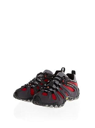 Merrell Cham II Slam Outdoor Schuhe (Charcoal/Red)