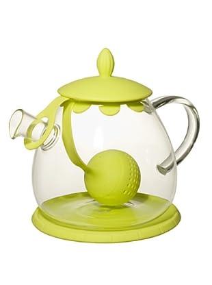 Cayos Company Teiera con Tea Ball Kiwi 12 cm