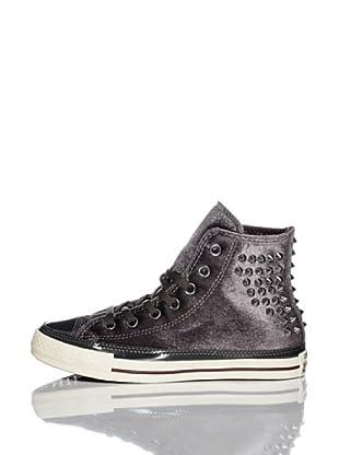 Converse Zapatillas All Star Velvet Studs (Antracita / Burdeos)