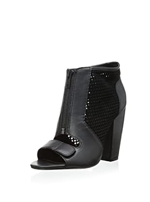 Kelsi Dagger Women's Bea Open-Toe Bootie (Black)
