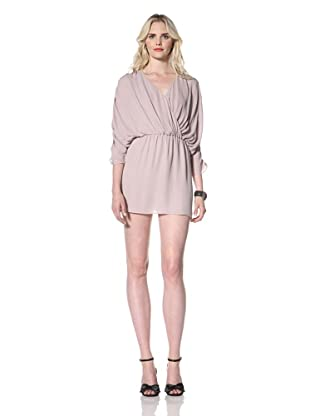 Parker Women's Short Ruched Dress (Dusty Lilac)