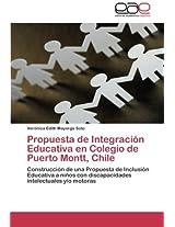 Propuesta de Integracion Educativa En Colegio de Puerto Montt, Chile
