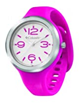 Columbia Escapade CT005-615 Round Dial Silicone Strap Watch - For Women