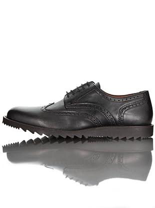British Passport Zapatos Derby (Negro)