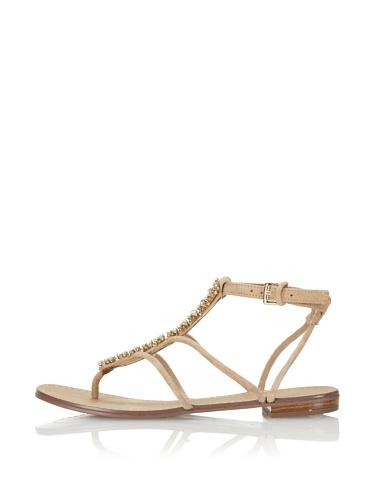 Boutique 9 Women's Phebe Flat Sandal (Natural)